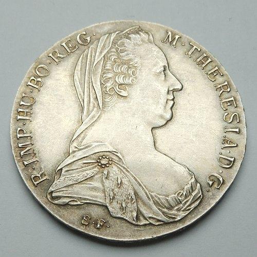 1780 Maria Theresa Thaler - Obverse