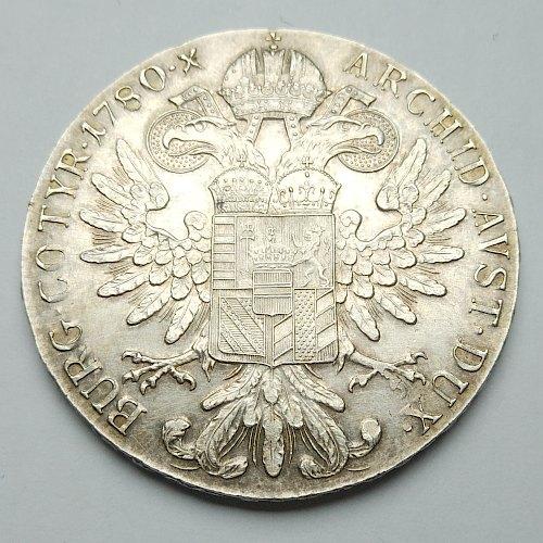1780 Maria Theresa Thaler - Reverse