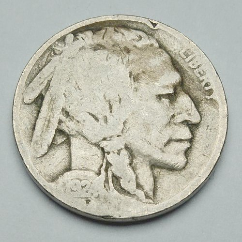 1924 Indian Head Nickel - Obverse
