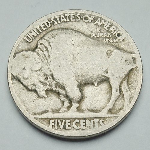 1924 Indian Head Nickel - Reverse