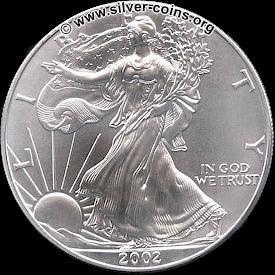 2002 silver bullion