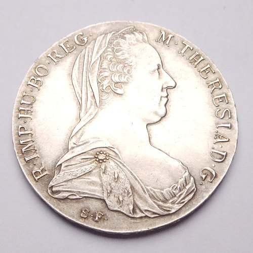 Silver Thaler Obverse