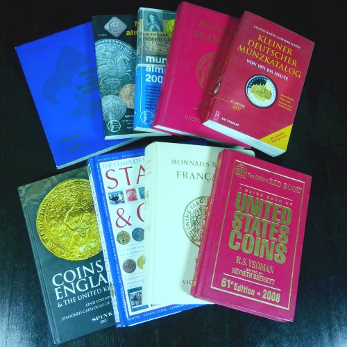 coin reference books