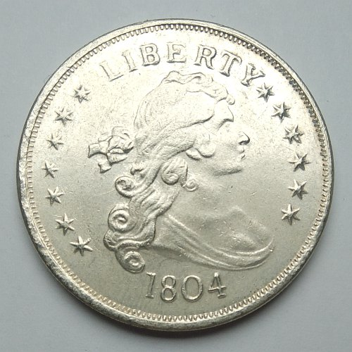counterfeit 1804 dollar coin
