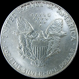 counterfeit silver eagle dollar