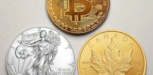 investing in gold or silver bullion coins vs bitcoins